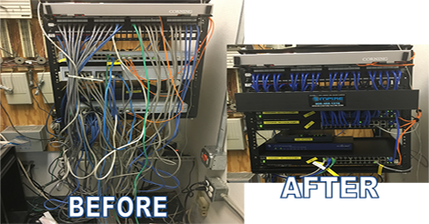Business I.T. Network Cabling in Colton | Empire Technologies on