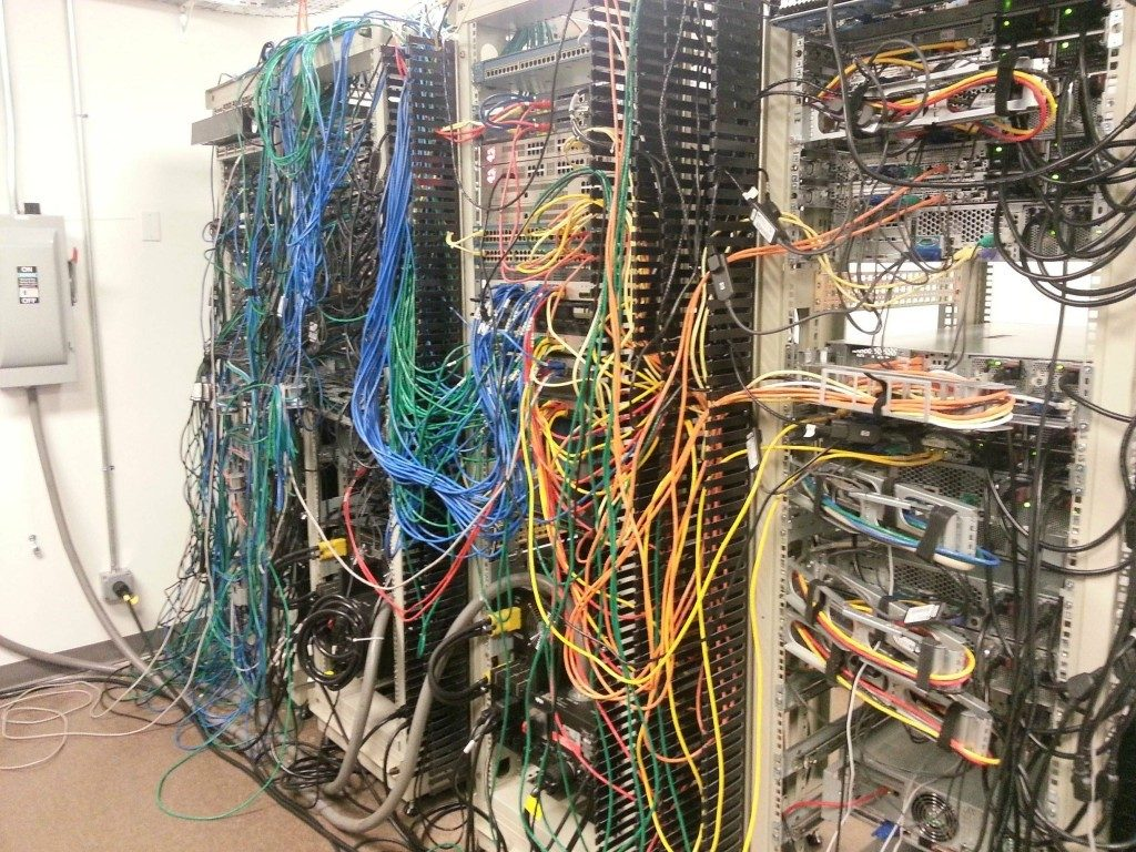 3 Reasons Your Server Room Shouldn T Look Like A Rat S