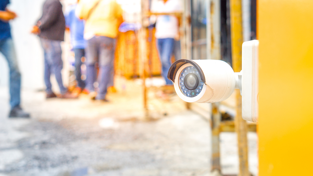 construction site security camera system installation, service or repair in Redlands