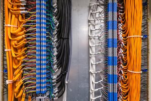Commercial Building CAT 5 Cabling Installation in Chino
